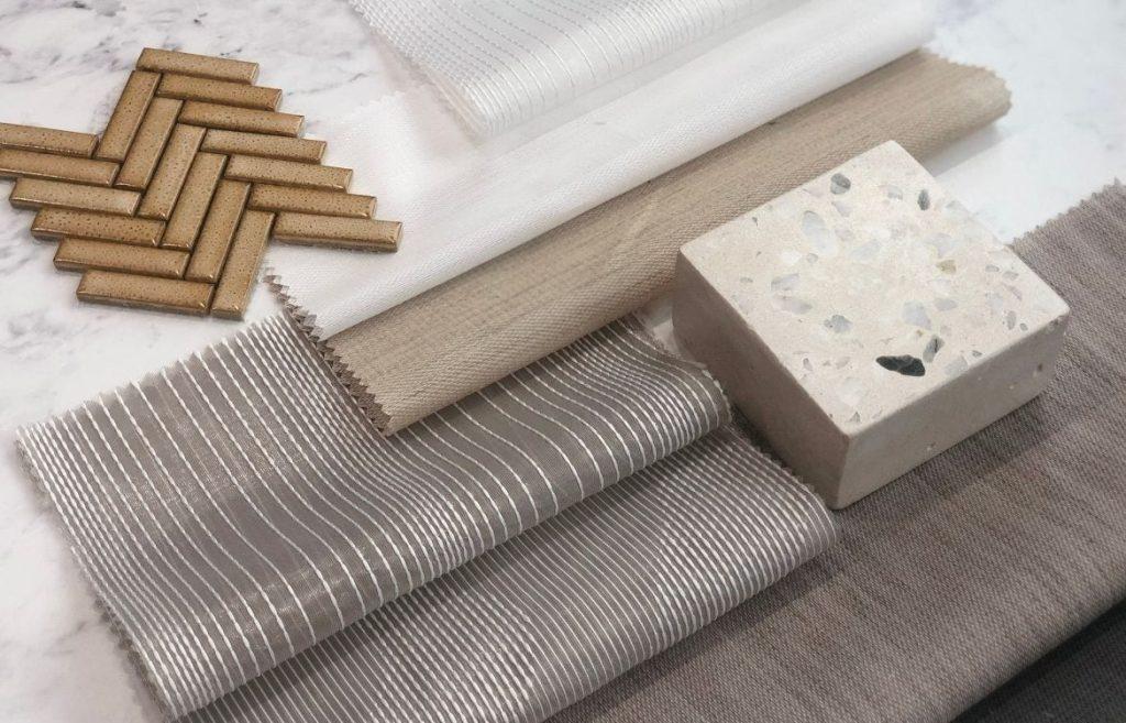Hush sheer acoustic drapery fabric Materialised