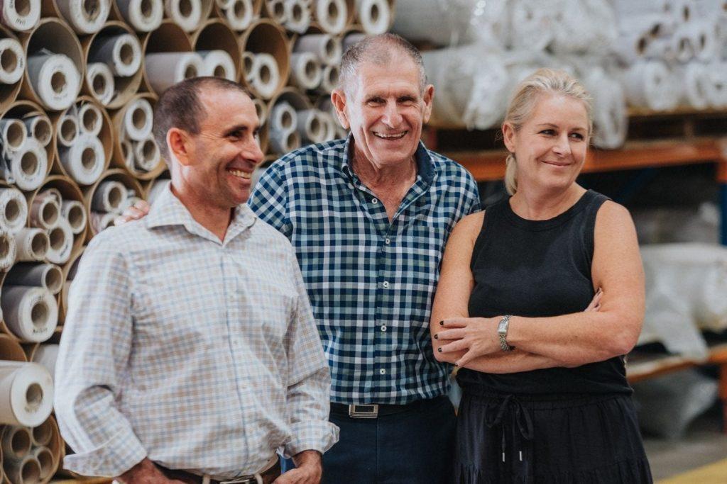 Matt, Gary and Belinda Price Materialised