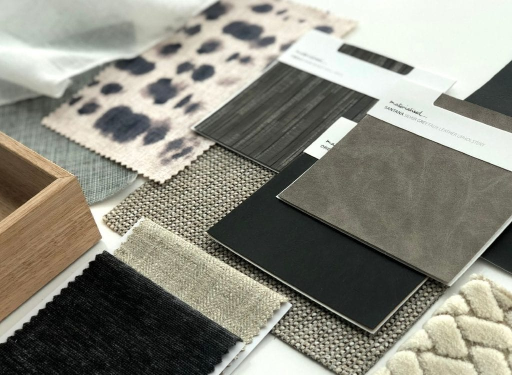 Materialised fabric, wall covering, art, newsletter