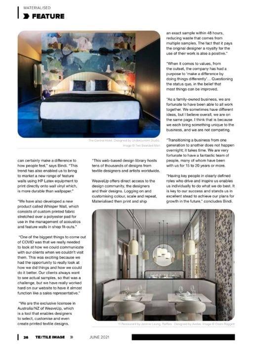 Textile Image Magazine page 26