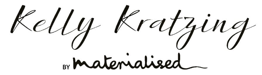 Kelly Kratzing by Materialised Logo