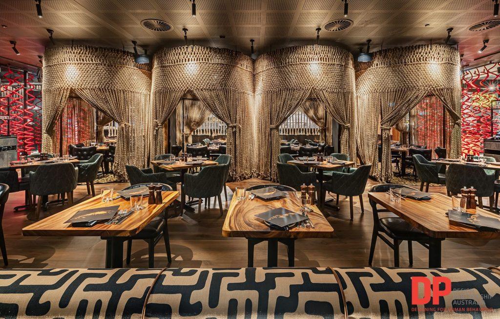 Interior design by Design Partnership Australia