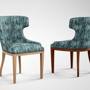 Arezzo Sapphire upholstery